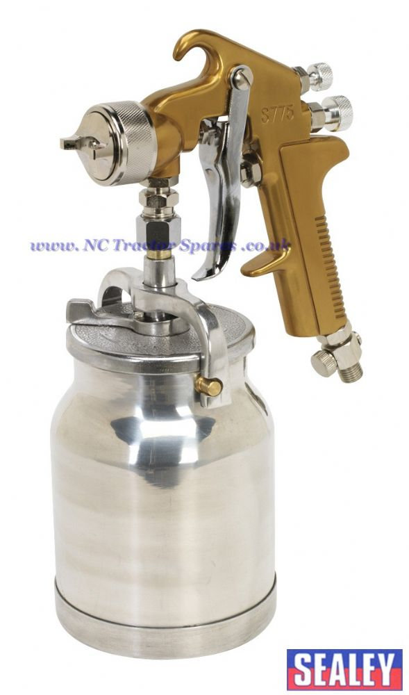 Spray Gun Suction Feed Siegen Brand 1.7mm Set-Up